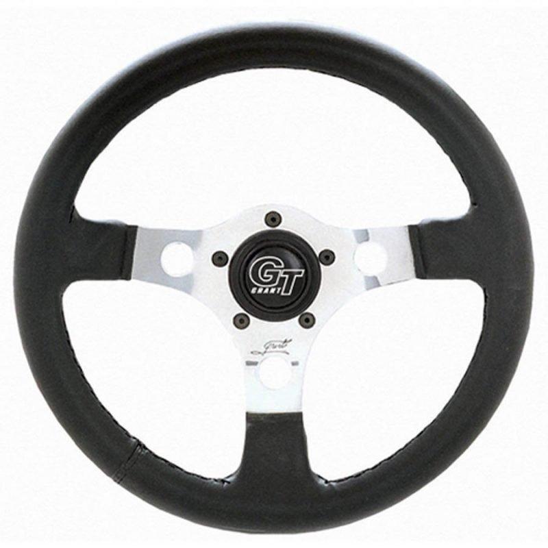 "13"" Grant Formula GT Silver Steering Wheel"