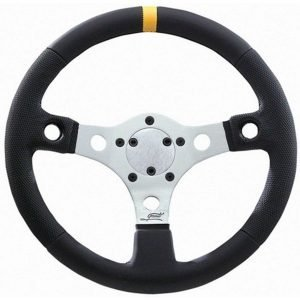 """13"""" Grant Performance GT Silver Anodized Steering Wheel"""