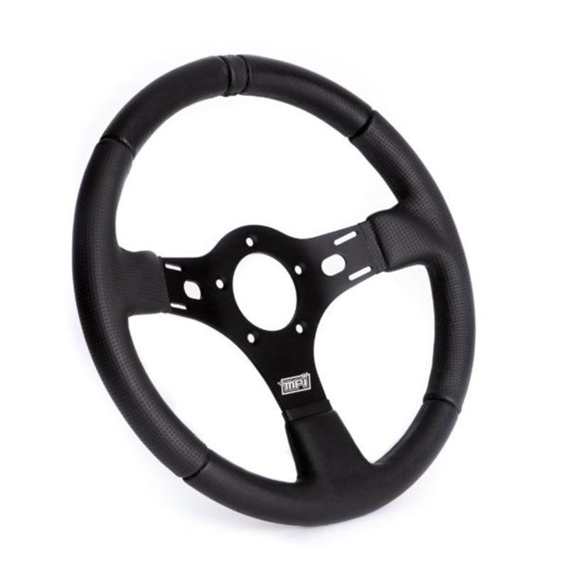 15 inch MPI Drag racing wheel black