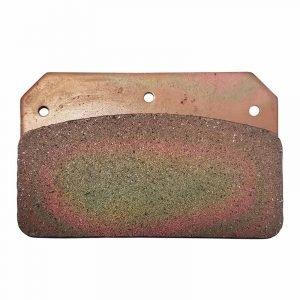 Brake Pad, Hard Metallic, Wilwood JFZ Four Piston Calipers