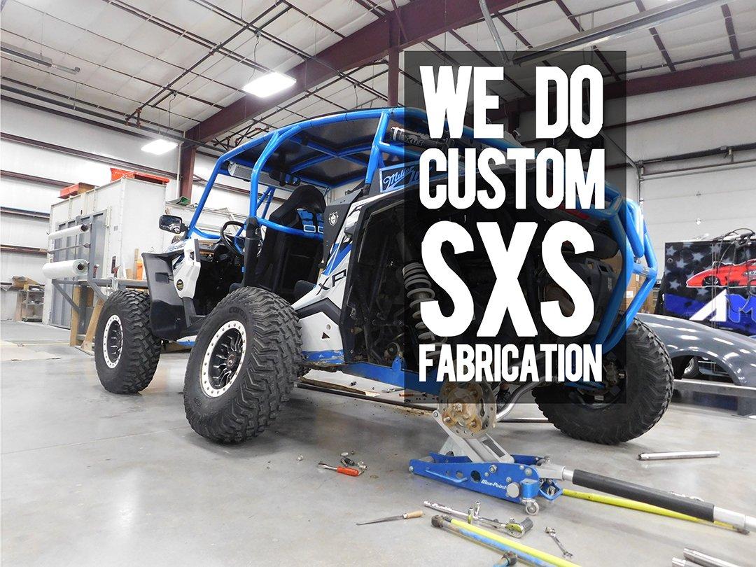 Custom SXS UTV Side by side fabrication